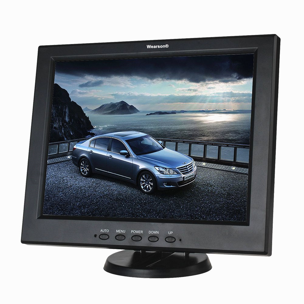 wearson 12 inch hdmi monitor bnc vga av hdmi input. Black Bedroom Furniture Sets. Home Design Ideas