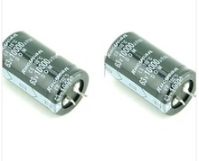 Бесплатная доставка 10 шт./лот 10000 мкФ 63 В электролитический конденсатор 30×50 мм
