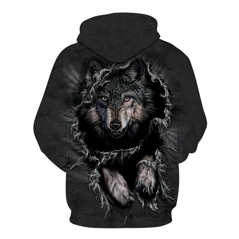 galaxy wolf printed 3d hoodies men brand hoodie hot sale unisex sweathsirts autumn 6xl pullover fashion tracksuits boy jackets Galaxy Wolf Printed 3D Hoodies HTB1