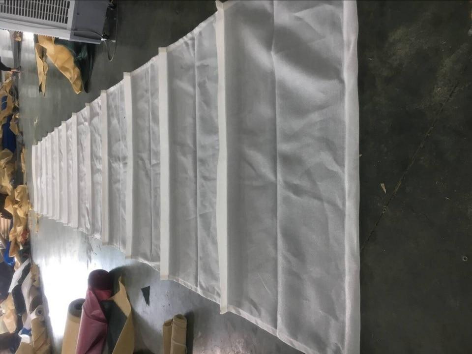 Индивидуальный волнистый растягивающийся козырек от Солнца Парус HDPE материал затенение висячий занавес солнцезащитный тент беседки навес занавески солнцезащитный экран тенты
