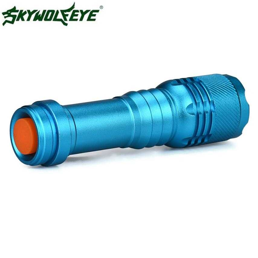 DC 27 Brilhante de Venda Quente Transporte Rápido 6000LM CREE Q5 AA/14500 3 Modos ZOOMABLE LED Flashlight Torch Super brilhante