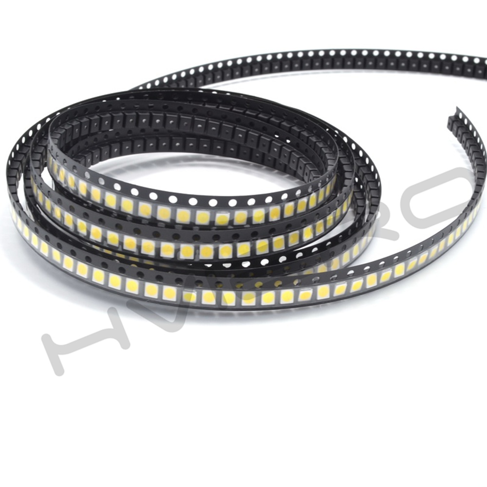 Hviero 3528pcs 3528white UV SMD/SMT  Diode LED PLCC-6 3-CHIPS Super Bright lamp light Diodes green product