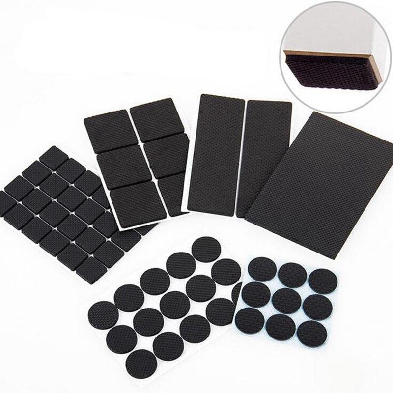 2-24 Stücke Self Adhesive Möbel Bein Füße Teppich Filz Pads Anti Slip Matte Stoßstange Dämpfer Für Stuhl Tisch Protector Hardware