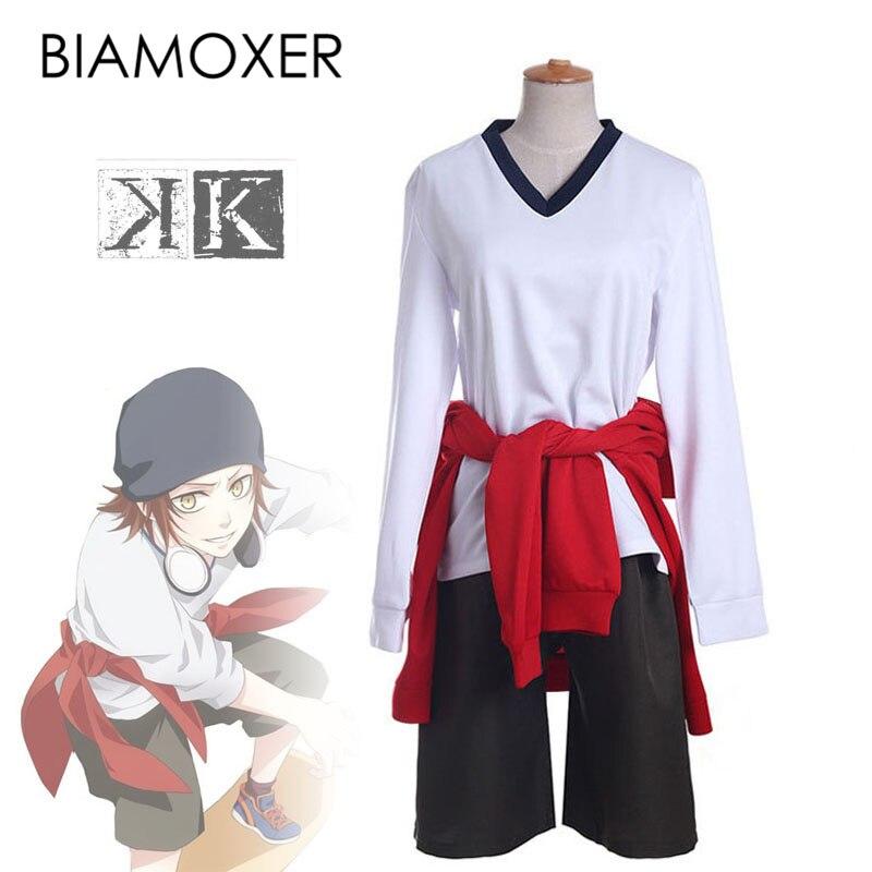 Anime Women K Yata Misaki Cosplay Sport Suit Cos