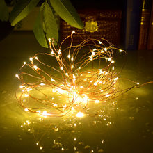 LED Christmas Light 2M 5M 10M USB Light String 5V Waterproof Cooper Wire Fairy Light ForParty Wedding Garden New Year Decoration(China)