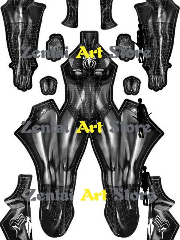 High Quality Black Cat Venom Symbiote Female Cosplay