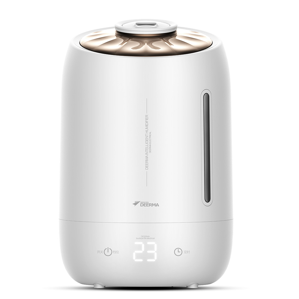 DEERMA Humidifiers 5L Large Mute Ultrasound Capacity Sterilization Humidifier Air Aroma Diffuser Purifier Mist Maker
