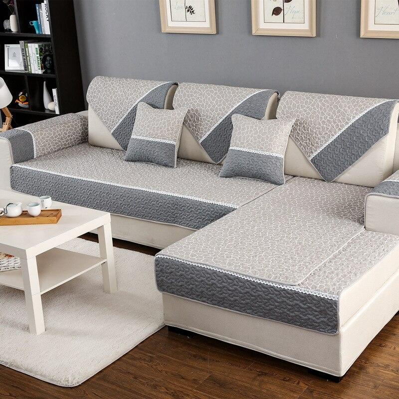 High Quality Sofa Cover 1 piece cotton Printed Soft Modern