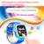 2016 mais recente gps smart watch devicetracker q90 touch screen sos chamada local para o miúdo do bebê seguro anti-perdido do monitor pkq80