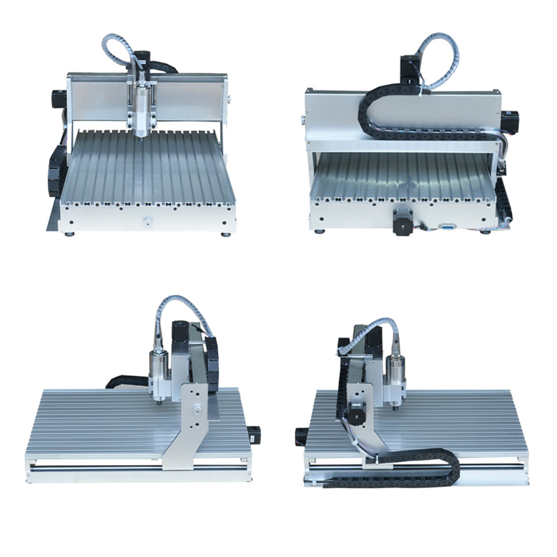≧3axis CNC 6040 1.5KW water cooling spindle engraver milling ...