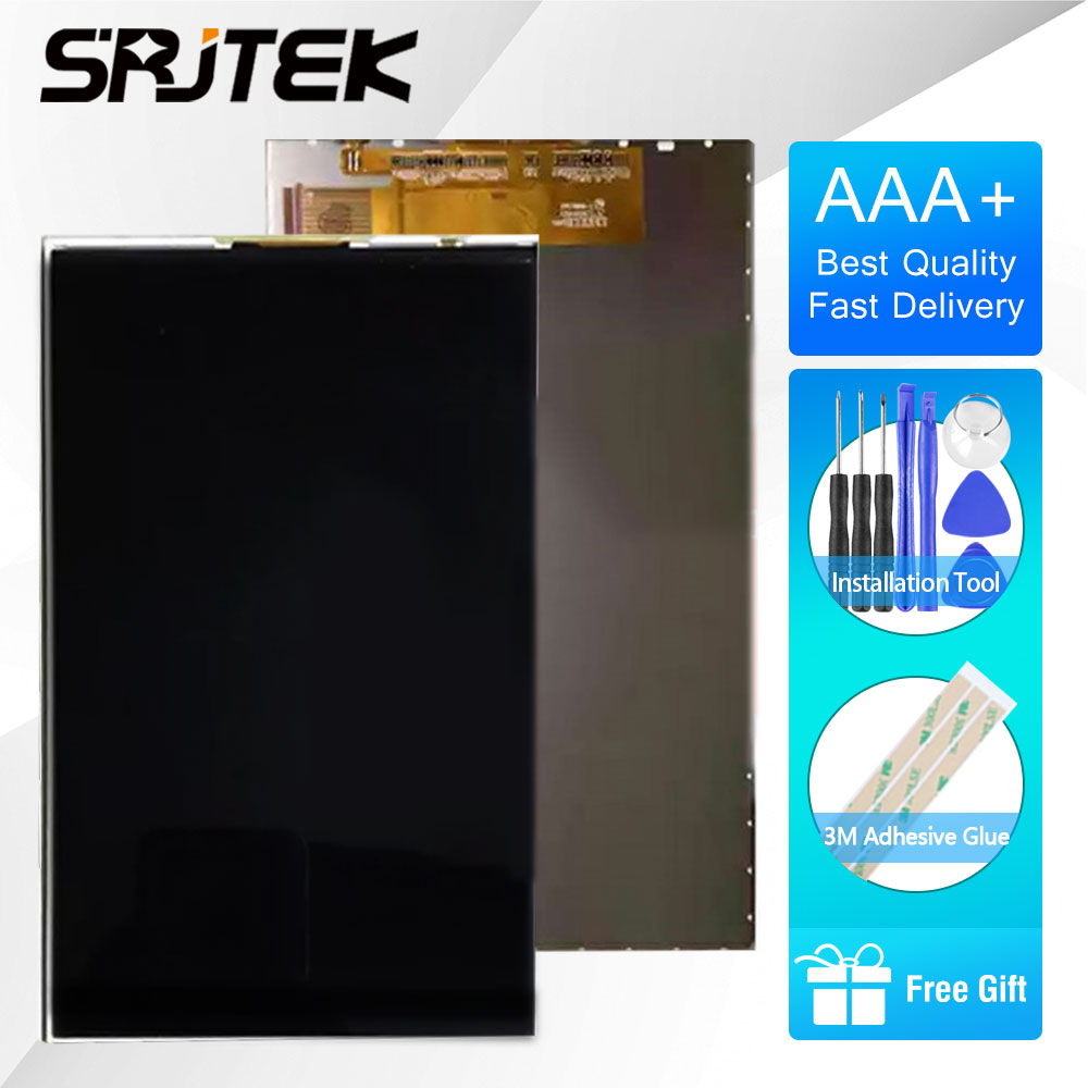 SRJTEK 7 LCD Display For Alcatel One Touch Pixi 4 7.0 3G 9003X 9003A Tablet PC LCD Screen Display TABLET Replacement Parts