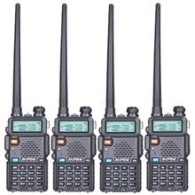 Buy 4pcs Baofeng UV-5R Walkie Talkie Dual Band Professional 5W UV 5R Two Way Radio Comunicador UV5R Ham HF Transceiver Radio Station directly from merchant!
