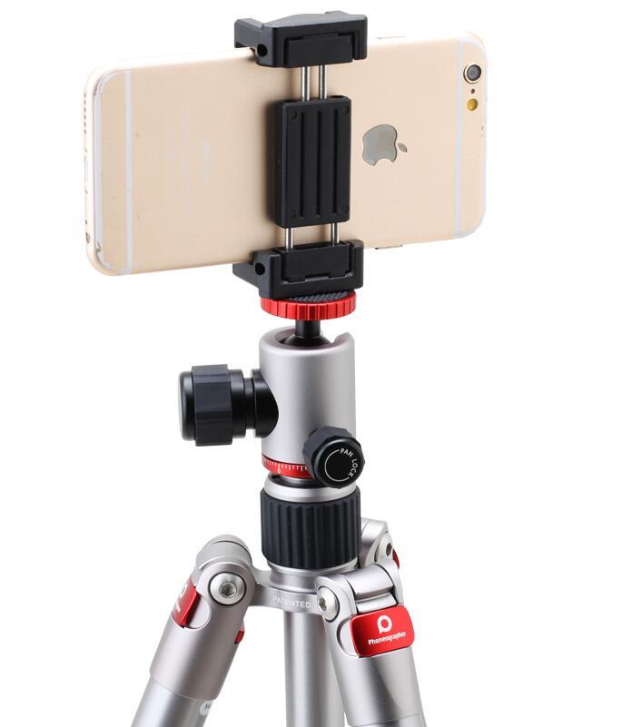 Benro TA1 téléphone portable trépied selfie bâton portable trépied en direct trépied de bureau numérique micro unique prise de vue