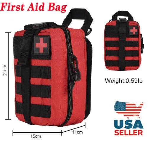 Тактический аптечка для первой помощи для выживания Molle Rip-Away EMT сумка IFAK Медицинский красный