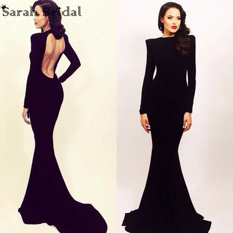 Collection Backless Dresses With Sleeves Pictures - The Fashions ...