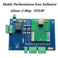 WebServer TCP/IP single Door Wiegand RFID Access Control Board 1 door 2 Readers Wiegand TCP/IP Network Access Control Board
