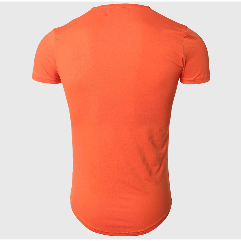 21 Colors Deep V Neck T-Shirt Men Fashion Compression Short Sleeve T Shirt Male Muscle Fitness Tight Summer Top Tees 34
