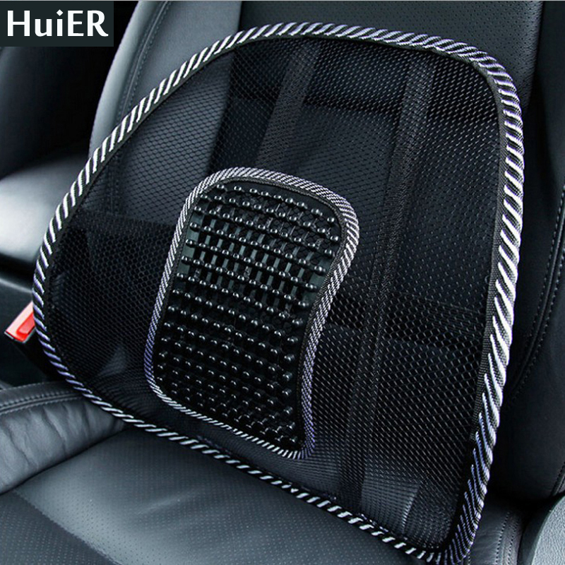 new hot car seat seat cover lumbar back brace seat cushion cushion office home auto massage. Black Bedroom Furniture Sets. Home Design Ideas
