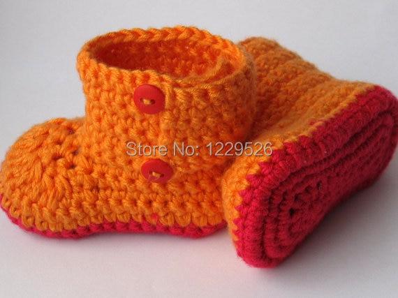 γλυκό χρώμα systerm μωρό μποτάκια, πλεκτά μποτάκια ,, Booties μωρό, παπούτσια μικρό παιδί.