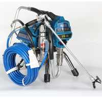Professionelle airless spritzen maschine Professionelle Airless Spritzpistole 2500W 2.5L Airless Farbe Sprayer 495 malerei maschine werkzeug