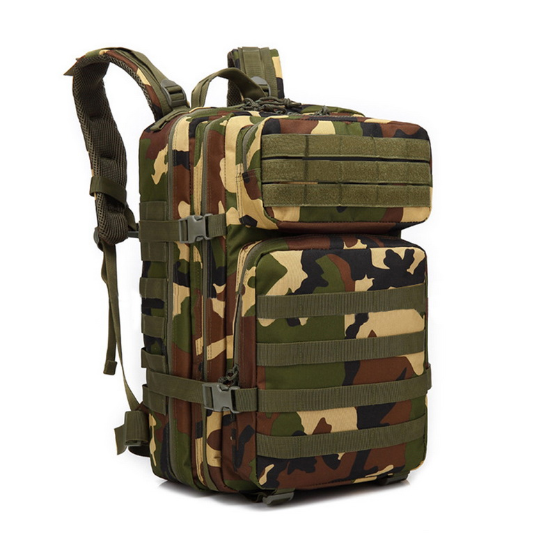 Litthing Outdoor Sport Camouflage Military Tactical Climbing Mountaineering Backpack Camping Hiking Trekking Rucksack Travel Bag hiking camping backpack 70l large capacity military rucksack mountaineering bag camouflage tactical climbing backpack tracking