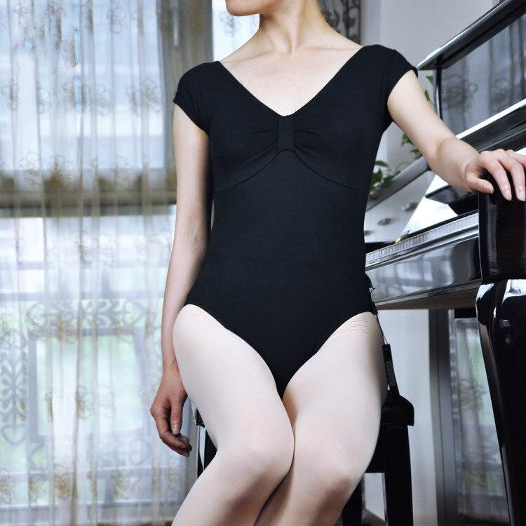 2016 Nieuwe Collectie Mode Dans Ballet Slijtage Katoen Lycra Jumpsuit Uniformen Turnpakje Wing Mouw Ballet Kleding Aantrekkelijk En Duurzaam