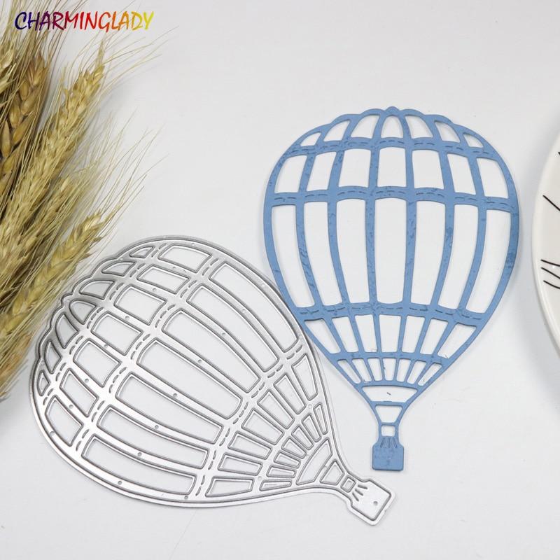 Metal fire balloon cutting dies stencils for Scrapbook Card picture frame envelope decorative steel stencil DIY