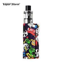 Комплект электронной сигареты Vapor Storm ECO, макс. 90 Вт, бак 2,0 мл, бокс мод граффити байпас, вейп 510, поддержка RDA RDTA, без батареи