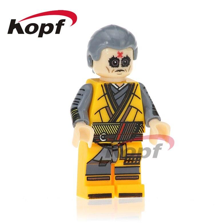 20Pcs PG258 Iker Casillas Death Shooter Daredevil Homecoming Homemade Suit Spiderman Bricks Building Blocks Children Gift Toys