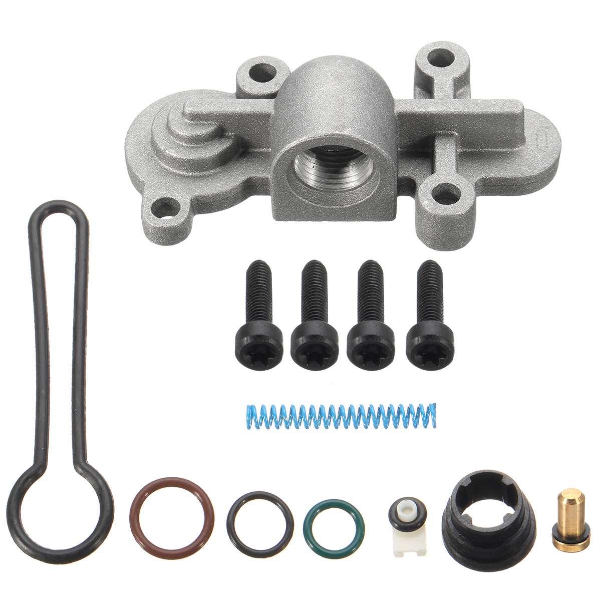 For 6.0L Powerstroke 03-07 Update Fuel Injector Rail Pressure Blue Spring Kit