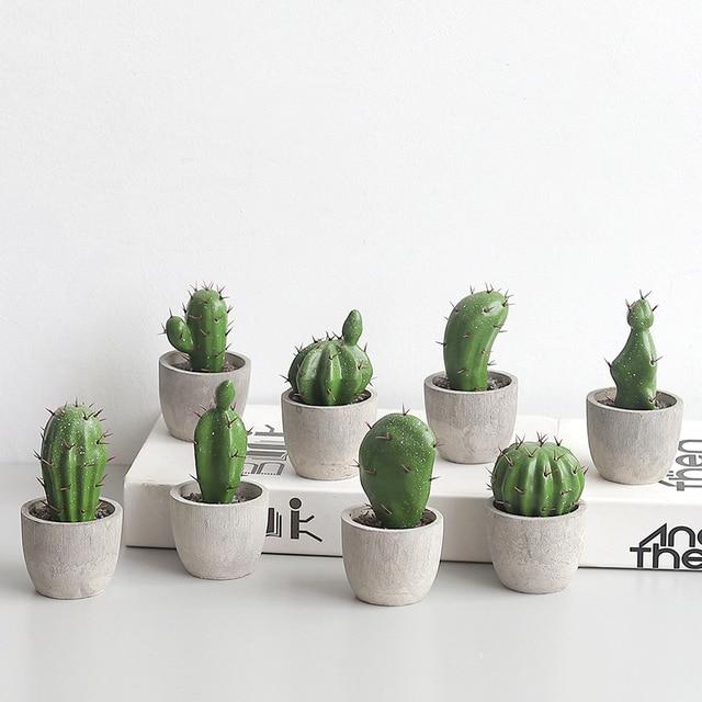 Artificial Cactus Plant