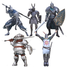 Dark Souls Souls Knight Artorias boss Abyss Walker Siegward of Catarina Fangamer desk decoration PVC Action Figure Toy