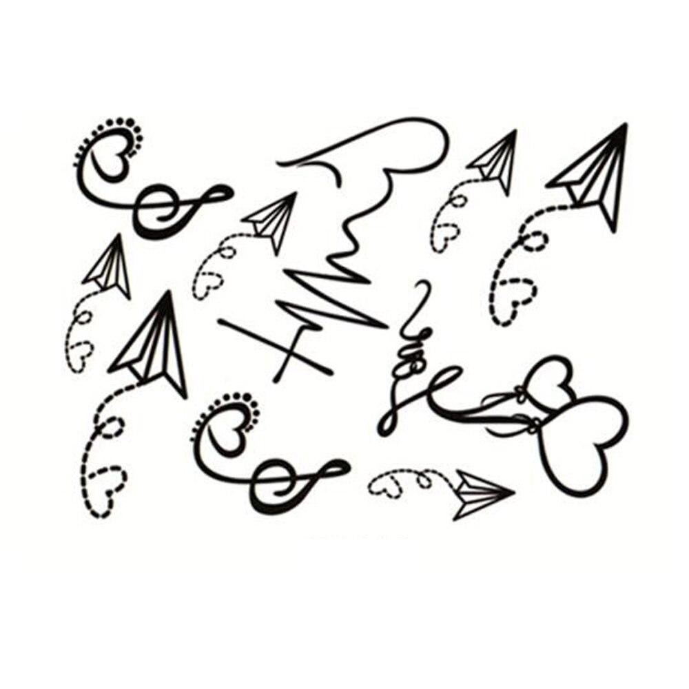 ᐃyeeech Tymczasowe Tatuaże Naklejki Dla Kobiety Mężczyźni Fałszywe