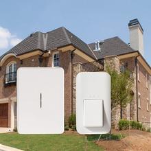 38 wirelesee куранты дверной звонок без батареи, что waterproof.120m диапазон и долгий срок службы. низкая цена и высокое качество дома дверной звонок