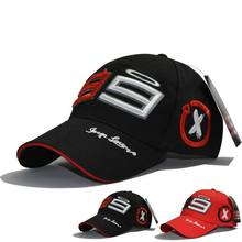 2019 Moto Gp 99 Jorge Lorenzo Hats For Men Racing Cap Cotton Brand Motorcycle Racing Baseball Caps Car Sun Snapback Black Hats(China)