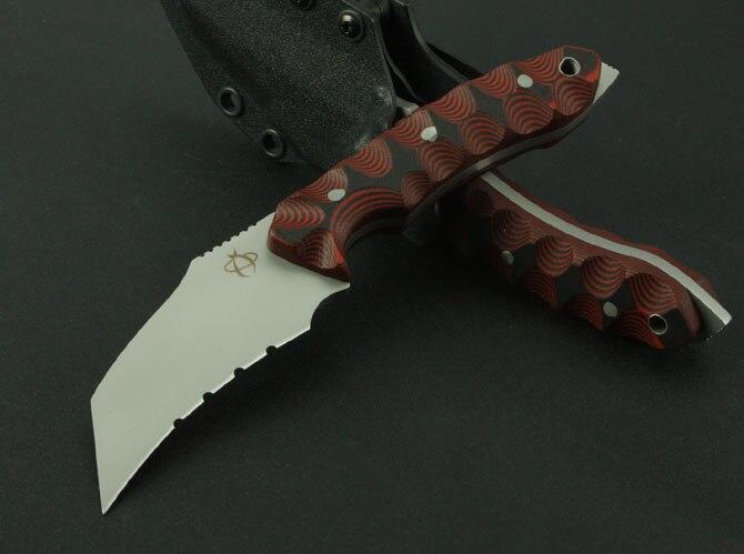 Cs go couteau Karambit extérieur 8Cr13Mov lame G10 poignée couteau de survie Camp couteaux de chasse Multi outils de sauvetage de haute qualité