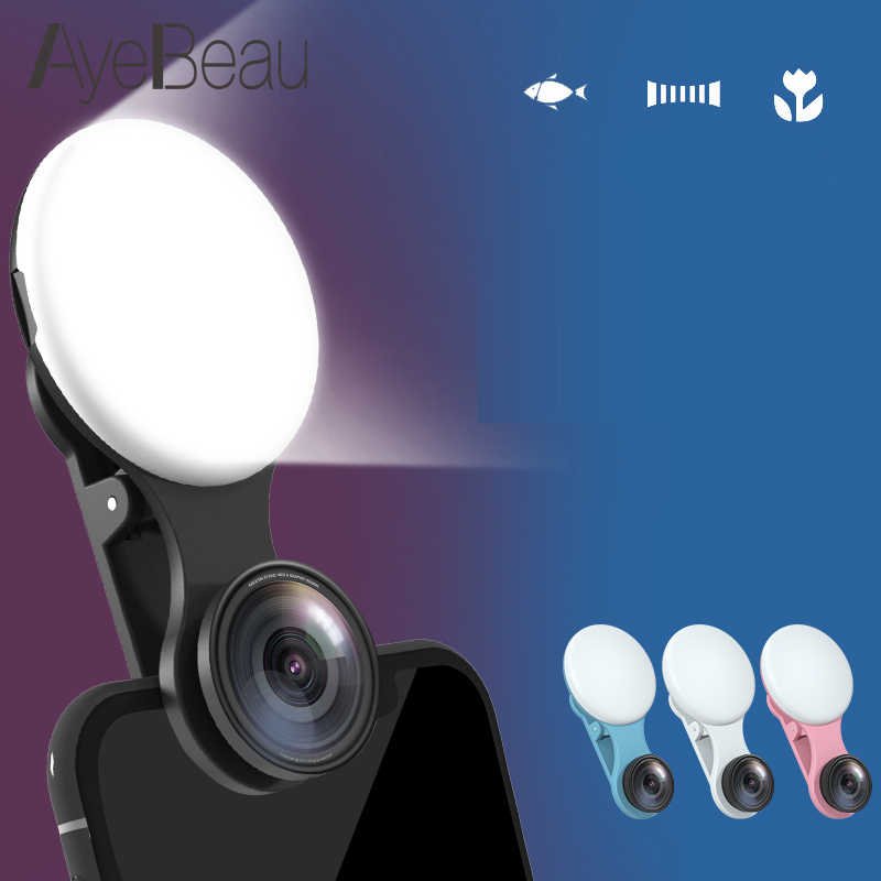 Flashlight Right Flash Light For Lamp On The Phone Selfie Ring Led Smartphone Celular Mobile Cellular Photo Photography Camera