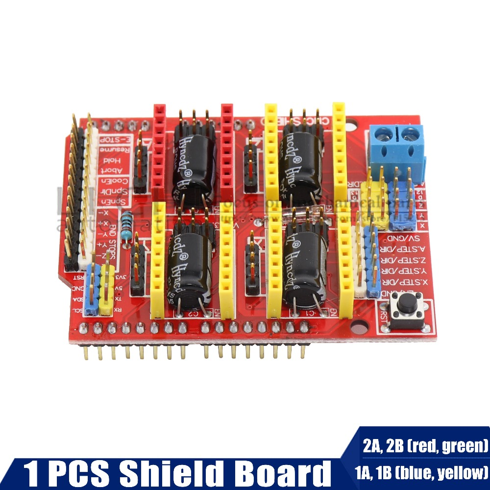 A4988 Driver CNC Qunqi Shield Expansion Board for V3 Engraver for 3D printer