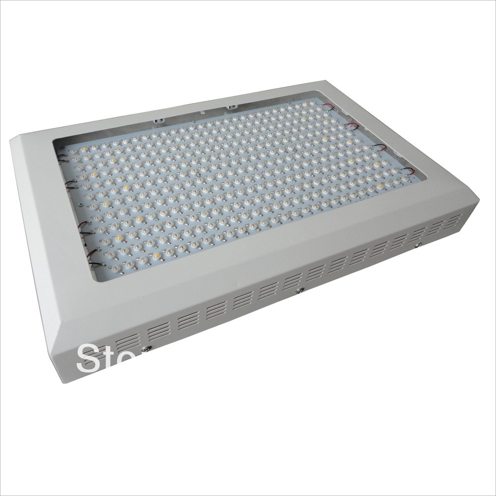 1x 1000W LED Grow Light 333*3W Dropshipping Hot selling 10 band 10 Spectrums IR Indoor Hydroponic System Plant Ufo HOT!