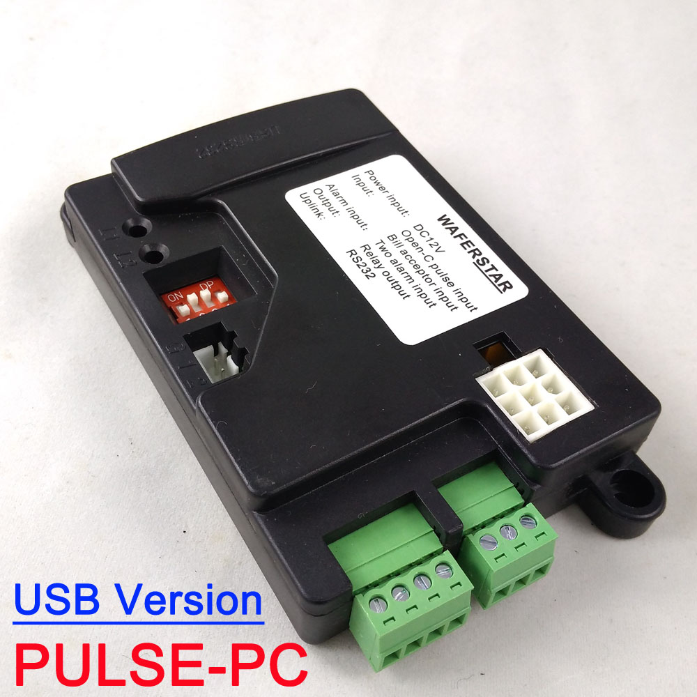 US $45 0 |USB Version Pulse type Coin acceptor ICT Pulse Bill acceptor to  PC interface PULSE PC for kiosk machine, vending machine-in Coin Operated