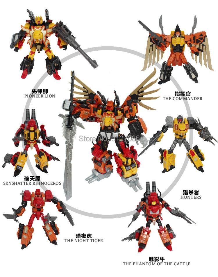 JinBao Transformation G1 MMC Predaking Feral Rex Predacons 6IN1 Oversize Upgrade Edition Action Figur Roboter Spielzeug-in Action & Spielfiguren aus Spielzeug und Hobbys bei  Gruppe 3