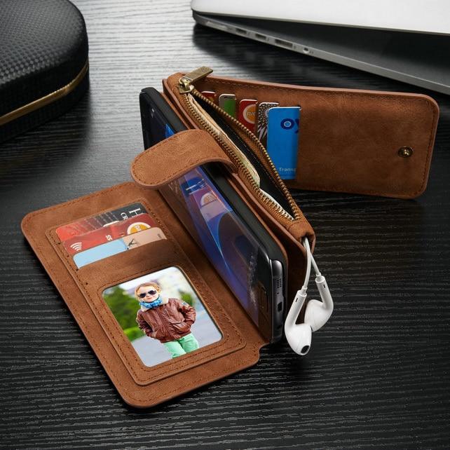 Original CaseMe För Samsung Galaxy S7 Magnetiskt läder 14 - Reservdelar och tillbehör för mobiltelefoner - Foto 1