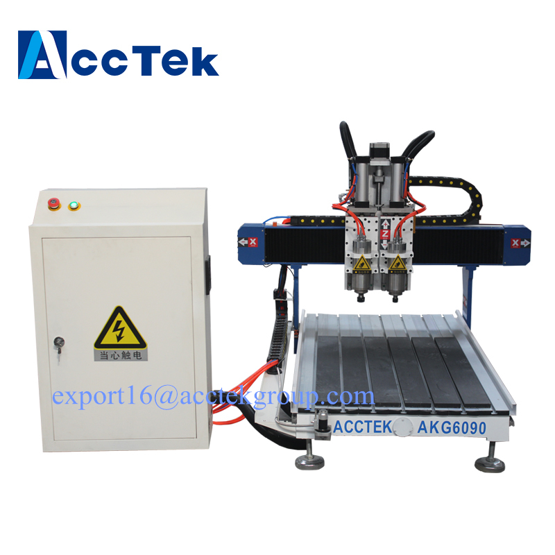 Mini 4AXIS 3axis 3d CNC Milling Machine CNC 6040 6012 6090 Router / math3 controller double spindle heads cheap price mini cnc router 2520t 3 axis 200w spindle for new user or school tranining