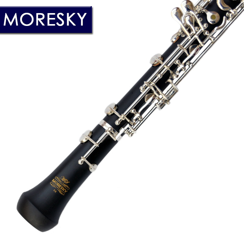 цены на MORESKY Professional C Key Oboe Semi-automatic Style Cupronickel Plated Silver