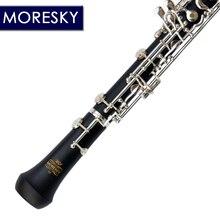 MORESKY Professional C ключевой гобой полуавтоматический стиль Мельхиор покрытый серебром