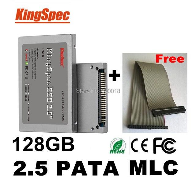 Kingspec 2.5 дюймов PATA hd ssd 128 ГБ MLC Solid State Disk Flash Drive 120 ГБ SSD ide HDD Жесткий Диск ssd ксд-pa25.6-128 мс> 64 ГБ