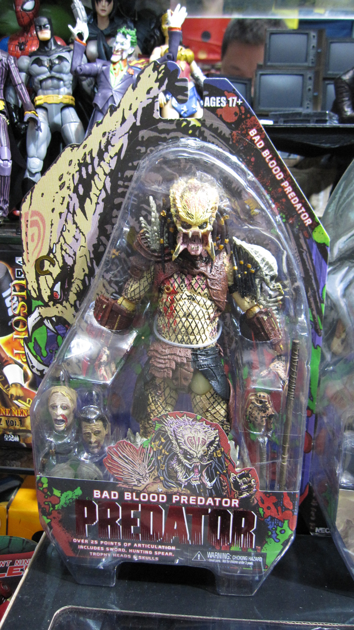 ФОТО Hot Classic Sci-fi Horror Movie Alien Hunter Predators Series Bad Blood Predator NECA 7