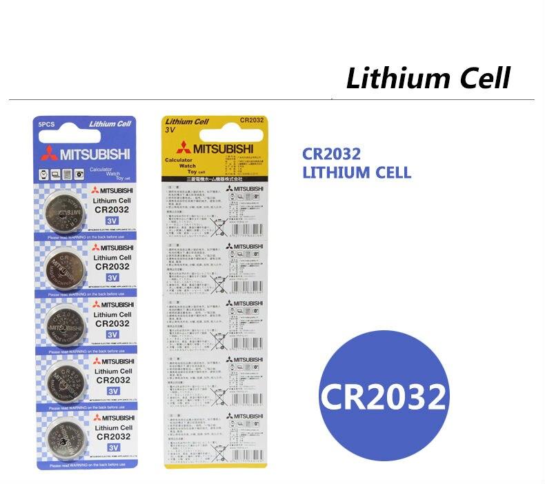 высокое качество 5 шт. в CR2032 3 в литиевая батарея 210 мач литиевой батареи клетки кнопки для часов игрушки электронные сказал