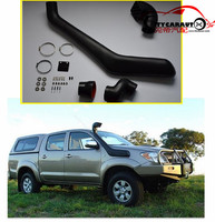 CITYCARAUTO 2005 2014 VIGO AUTO AIRFLOW SNORKEL KIT Fit FOR HILUX VIGO Air Intake LLDPE Snorkel Kit Set 2005 2014