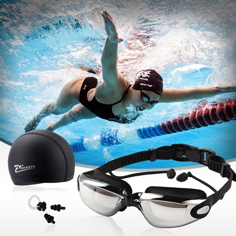 Zestaw akcesoriów do pływania dla dorosłych Gogle do pływania - Aktywność i sprzęt dla dzieci - Zdjęcie 3
